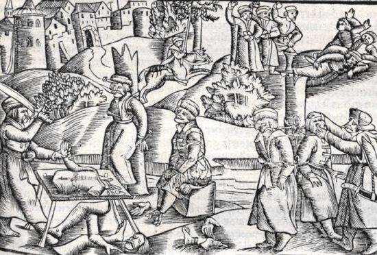 poprava ve středověku