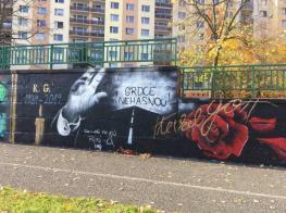 Přemalované graffiti s Karlem Gottem