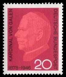 Galen na německé poštovní známce z roku 1965