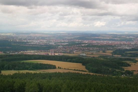 Pohled na Plzeň