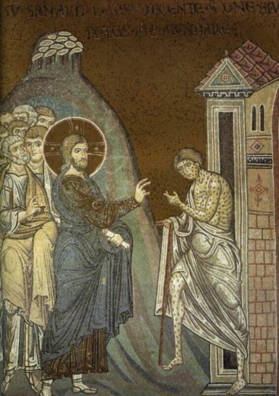 Lepra byla častým námětem středověkých obrazů