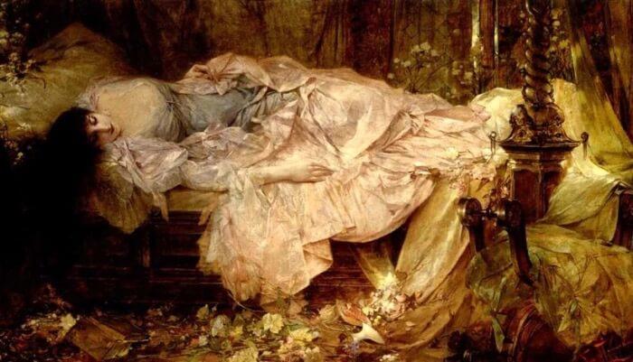 Franciszek Żmurko - Spící dáma