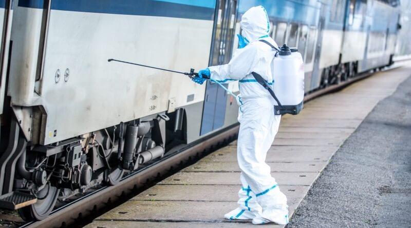 dezinfekce vlaku