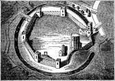 Dobová ilustrace věznice v Oxfordu