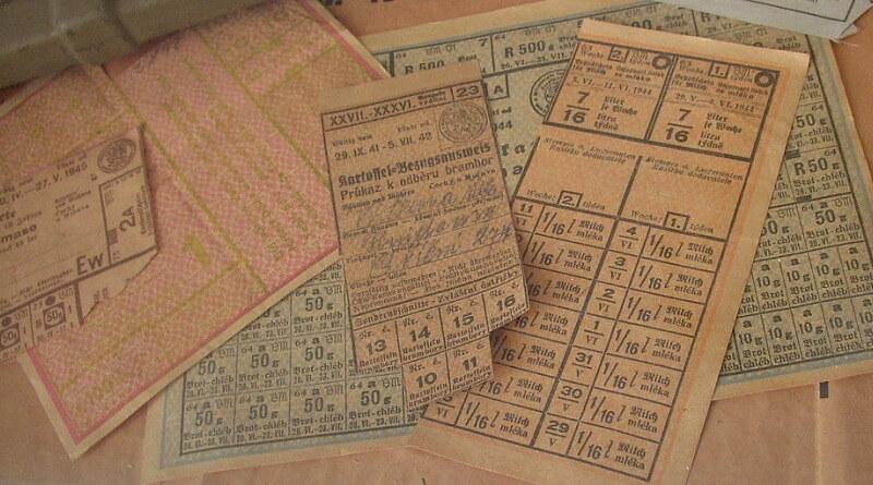 přídělové lístky