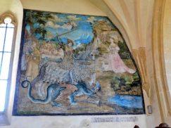 Druhá nejstarší nástěnná malba v ČR v Kapli Panny Marie
