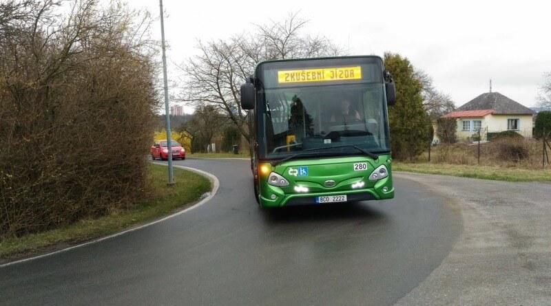 autobus na výsluní