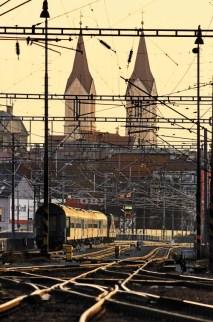 vlakem do škodovky