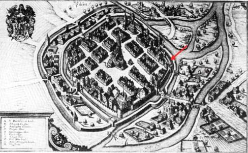 Plzeň 17. století