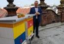 Město Plzeň stočilo první med z úlů na střeše radnice