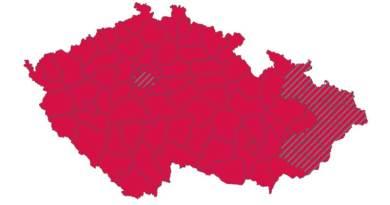 """Červené Česko: Podle """"semaforu"""" se covid-19 šíří komunitně ve všech krajích"""