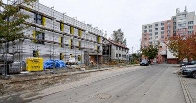 V revitalizované lokalitě Zátiší stojí již osm nových bytových domů