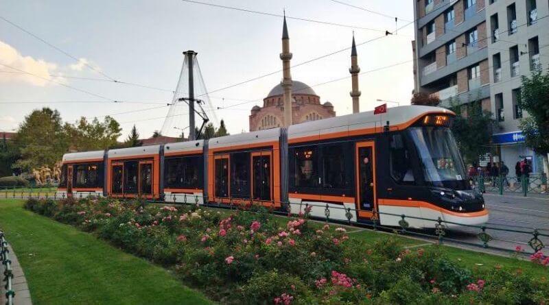 tramvaj v turecku