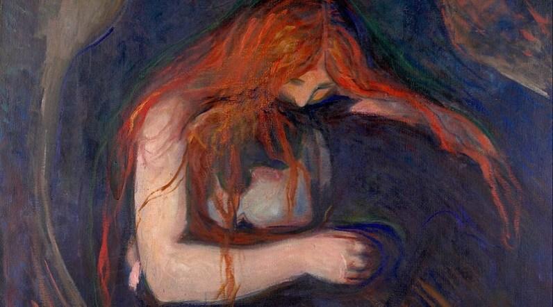Edvard Munch - Vampýr