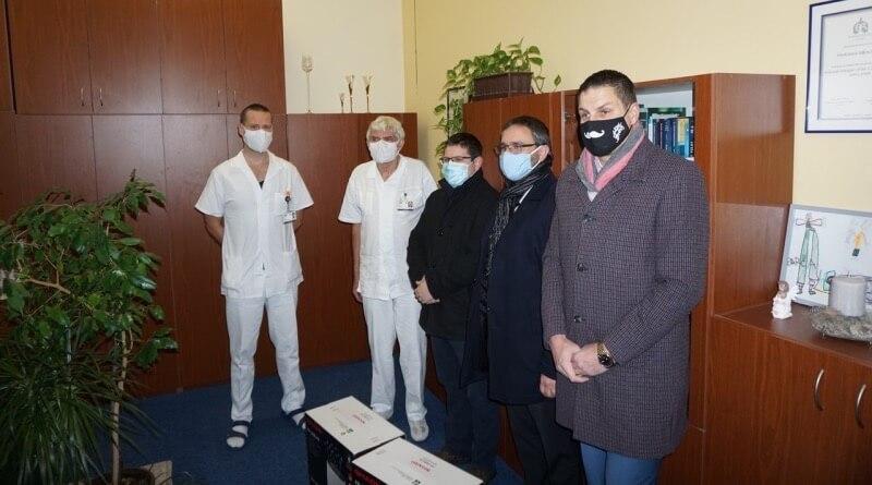předání na plicní klinice