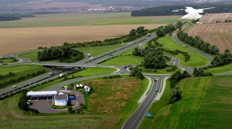 Vizualizace silnice