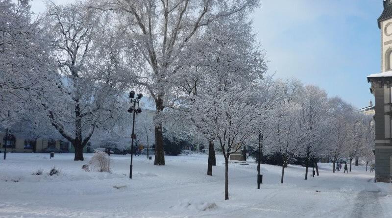 Zima v Plzni