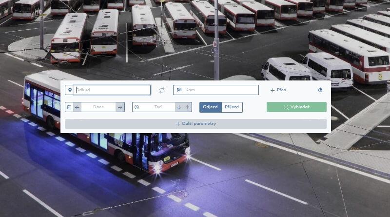 web jízdních řádů