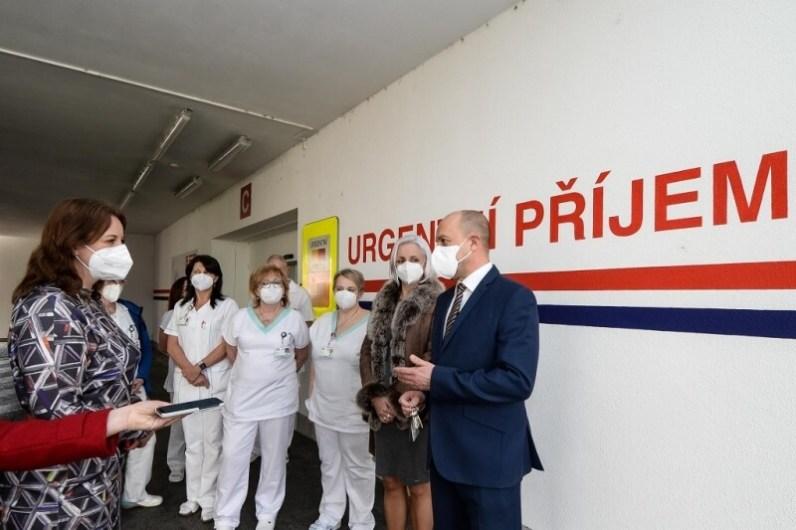 Plzeň poděkovala pracovníkům Fakultní nemocnice Plzeň