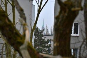 Věž katedrály sv. Bartoloměje