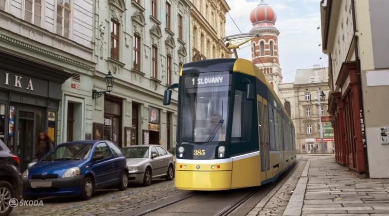 Autonomní tramvaj