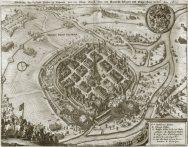 Plzeň v roce 1619