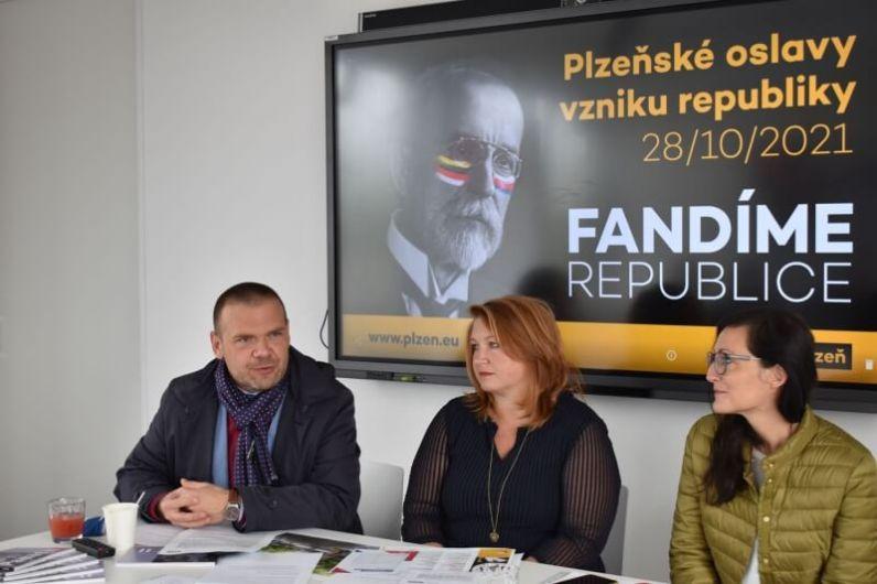 Oslavy 28. říjen Plzeň