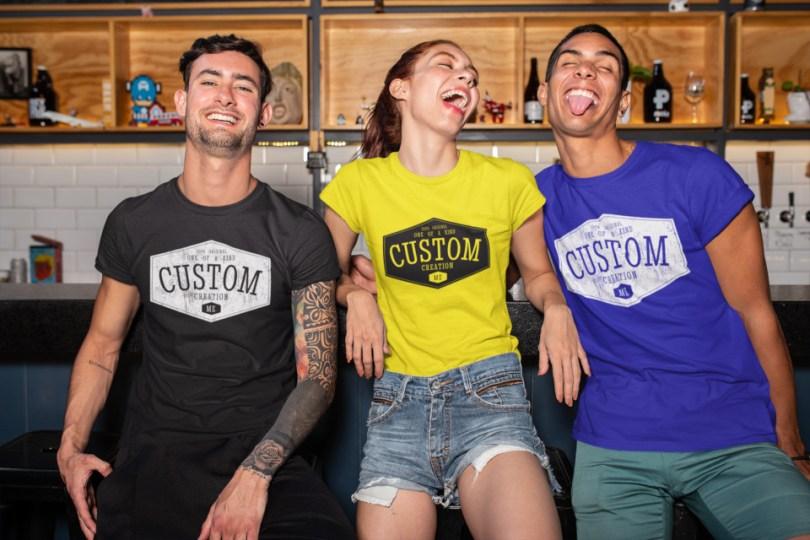 merchandise placement custom creation