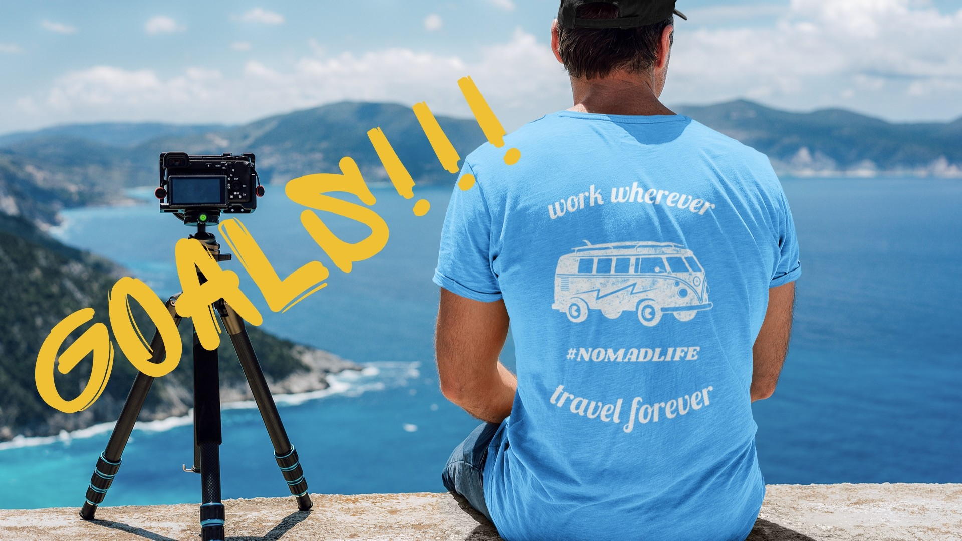 sidehustle goals work wherever travel forever