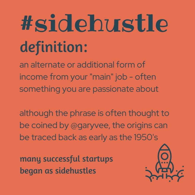 definition of a sidehustle