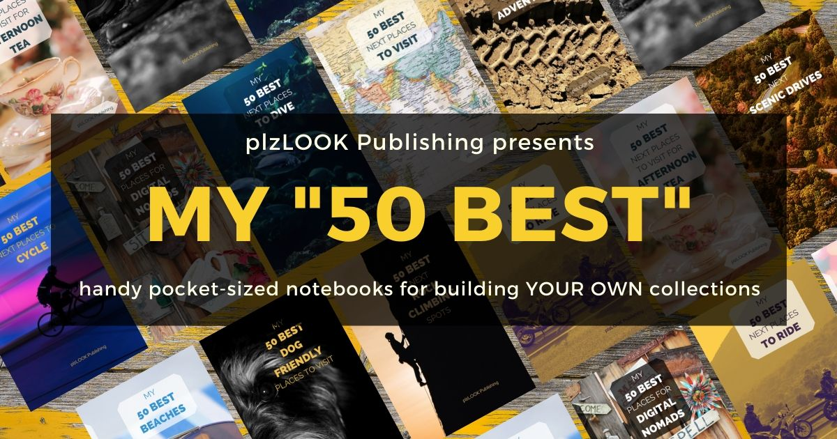 selection of 50 BEST notebooks on table