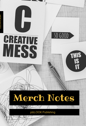 merch notes pocket notebook