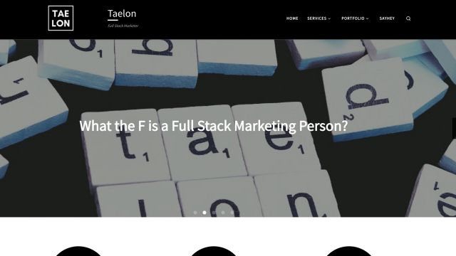Taelon - full stack marketing