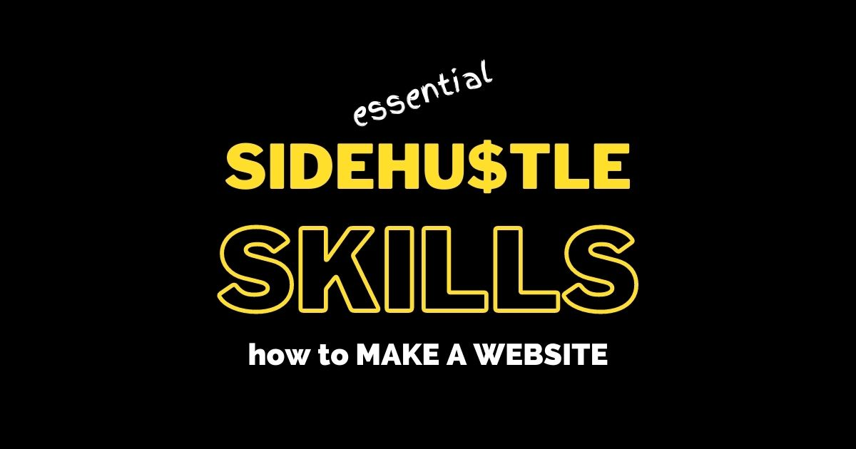 How to make a website is the most common question