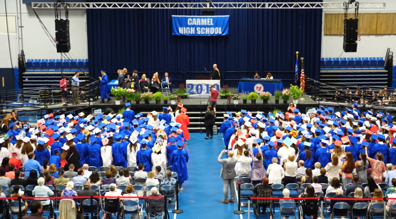 Graduation Crowd Silent for Student with Autism
