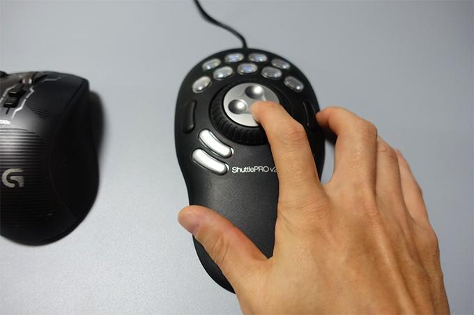 ビデオ編集コントローラー ShuttlePRO v2の使い方 設定