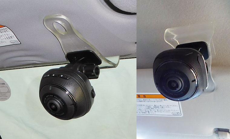 【設置例】ドラレコ ダクション360を便利に使う工作と使ってみた感想【移動可能】