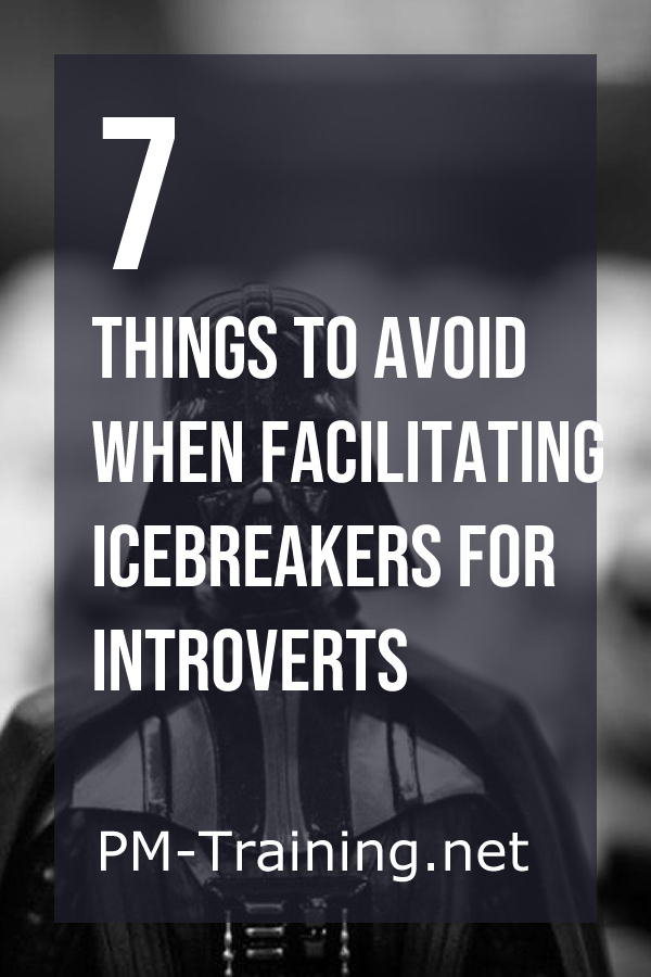 Things to Avoid when Facilitating Icebreakers for Introverts