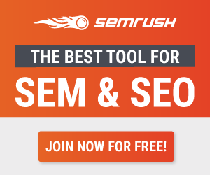 SEMrush - The Best Tool for SEO & SEM