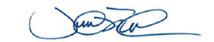 Prime Minister of Canada signature