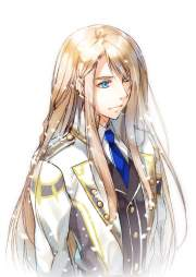 guy long hair anime