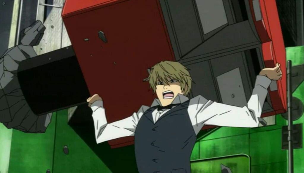 Image result for shizuo heiwajima angry