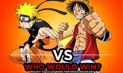 Time to settle the debate! Luffy Vs Naruto Who Would Win Anime Amino
