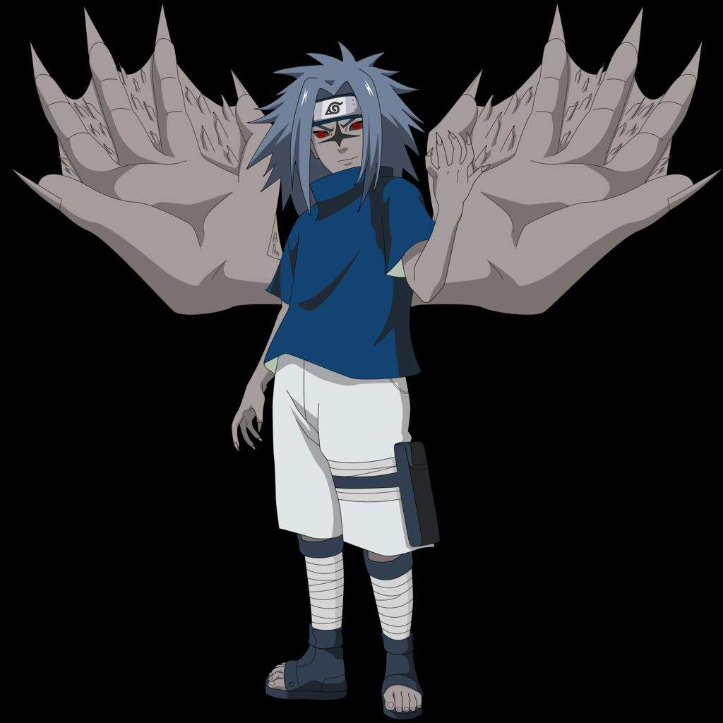 sasuke curse mark anime