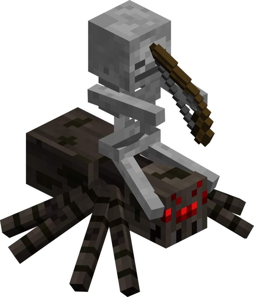 Chicken Jockey or Spider Jockey?
