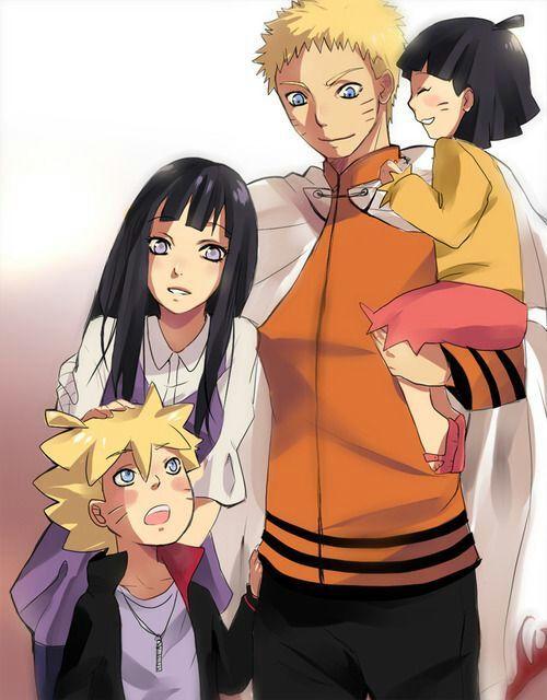 Naruto Uzumaki And Hinata Kids