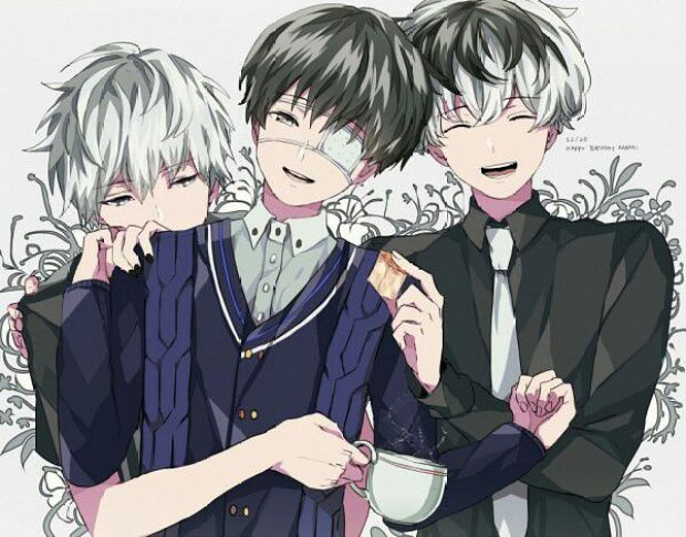 Image result for kaneki diff forms