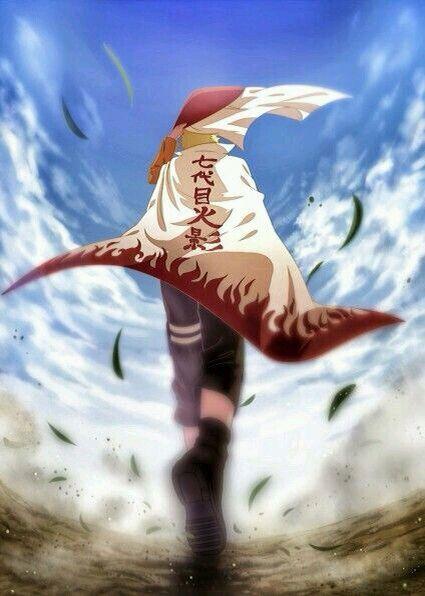 Naruto Uzumaki As The 7th Hokage