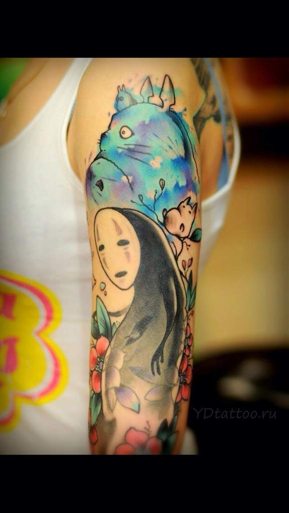 absolutly amazing anime tattoos