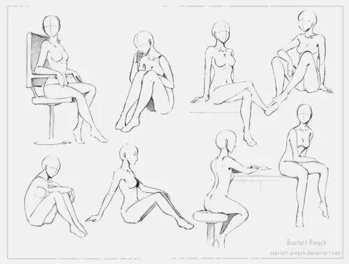 Manga body shapes | Anime Amino